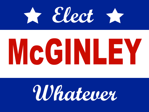 election-sign